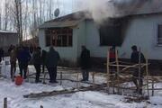 Vanda evde çıkan yangında iki kardeş öldü