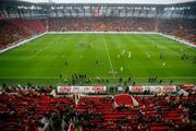 Göztepe Gürsel Aksel Stadyumu, Göztepe - Beşiktaş maçı ile açıldı İlk fotoğraflar...
