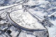 Sivasta inanılmaz görüntüler Sibirya soğuklarının ardından…