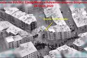 İHAlar deprem bölgesinde 3 saatte 275 noktayı taradı