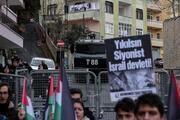 İstanbulda ABD Başkonsolosluğu önünde protesto