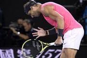 Rafael Nadal - Dominic Thiem maçında kareler