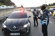 İstanbulda çakar ve emniyet şeridi denetimleri