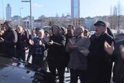 İmamoğluna Şişlide protesto