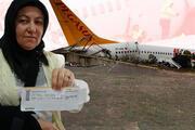 Sabiha Gökçen Havalimanındaki uçak kazasında yaşadığı şoku anlattı