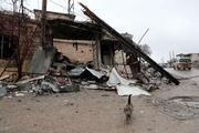 Bombardıman İdlib kırsalını harabeye çevirdi