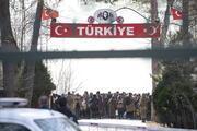 Türkiye - Yunanistan sınırında hareketli dakikalar