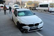 Kağıthanede zincirleme trafik kazası