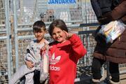 Yunanistan güvenlik güçlerinin yaraladığı 236 göçmenin tedavisi yapıldı