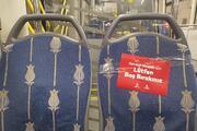 Otobüslerde Corona Virüse karşı şeffaf brandalı kabin önlemi