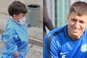 Süper Lig eski futbolcusunun öldürdüğü oğlunun, hastanedeki görüntüsü ortaya çıktı