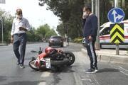 Çiğköfteci Ömer Aybak kaza geçirdi