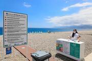 Dünyaca ünlü sahil yeni döneme hazır