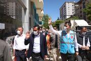 Bakan Kurum, Elazığda depremzedeler için yapılan konutlarda incelemelerde bulundu