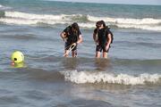 Denizde boğulan Ali Ercan ile babası, toprağa verildi