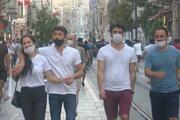 Sokağa çıkma yasağının bitmesinin ardından İstiklal Caddesinde yoğunluk