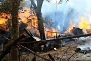 Yusufelinde ahşap evde çıkan yangın, diğer evlere sıçradı