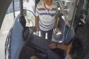 Maske tartışmasında otobüs şoförünün saldırıya uğradığı anlar