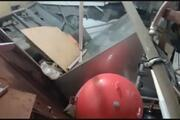 Gaziosmanpaşada hastanenin duvarı çöktü