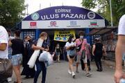 Bulgaristandan Türkiyeye alışverişe koştular