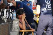 Şişli'de lüks aracıyla kaza yapan kadın sürücü şok yaşadı