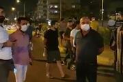 Orman yangını sonrası İskenderunda vatandaşlar sokakta nöbet tuttu
