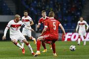Rusya-Türkiye maçından en özel fotoğraflar