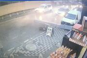 Ümraniyede baca araçların üzerine düştü... Genç doktor ölümden döndü