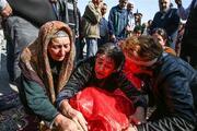 Ermenistanın Gencede füze ile öldürdüğü siviller son yolcuğuna uğurlandı