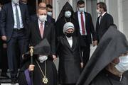 Markar Esayan için cenaze töreni