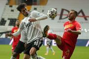 Beşiktaş-Yeni Malatyaspor maçından en özel fotoğraflar