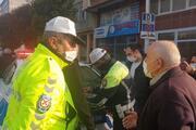 Çorumda fazla yolcuyla polise yakalandı, savunması şaşırttı