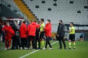 Beşiktaş - Sivasspor maçında Hakan Arslanın kırmızı kart pozisyonu