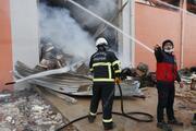 Harran Üniversitesinde lojistik deposunda yangın
