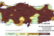 Meteorolojiden kuraklık haritası... Çarpıcı detaylar