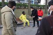 Gezi Parkında tir tir titrerken bulundu hiçbir yardımı kabul etmedi