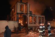 Edirnede tarihi İl Müftülük binası yandı Soruşturma başlatıldı