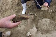 Köylüler su ararken fosil buldu