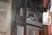 İzmirde korku dolu anlar Bir anda alev topuna döndü, bekçiler faciayı önledi