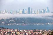İstanbul'da sis Muhteşem görüntüler…