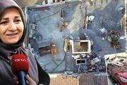Gaziosmanpaşada binanın çatısının tamamı uçtu