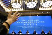 Koronavirüsü araştıran DSÖ ekibi Çinde açıklama yaptı