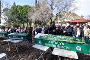 Antalyada acı veda