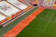 Türk Telekom Stadında kar önlemleri