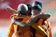 Alanyaspor-Galatasaray maçından en özel fotoğraflar