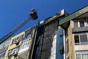 Kartalda 6 katlı binada yangın Çok sayıda ekip sevk edildi
