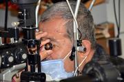 Koronavirüs nedeniyle sol gözünü kaybetti