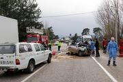 Muğlada katliam gibi kaza 5 kişi hayatını kaybetti