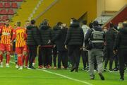 Kayserispor - Galatasaray maçından öne çıkan fotoğraflar