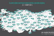 İl il koronavirüs risk haritası: 5 ilde vaka sayısı yükselişe geçti... İşte İstanbul, Ankara, İzmir ve illere göre corona virüs verileri